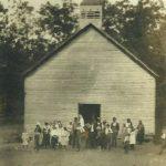 The First Lynn Camp Church Building _1895-1900