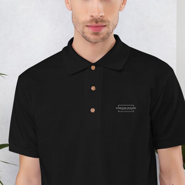 Embroidered Polo Shirt 1