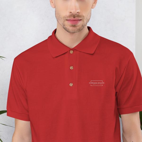 Embroidered Polo Shirt 3