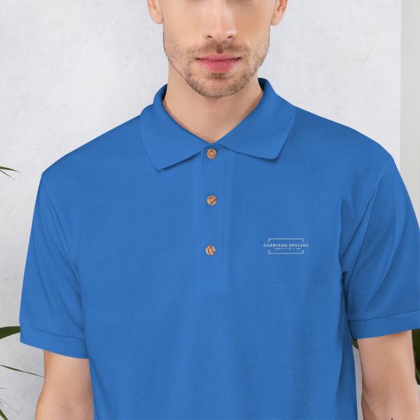 Embroidered Polo Shirt 5
